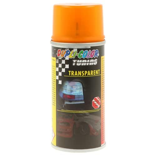 Duplicolor 674013 Tuning + Vernis aerosol Universel 150ml Transparent Orange