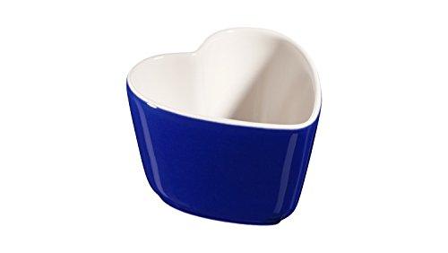 Staub - Set di 2 Mini pirottini in Ceramica Ramekin, 8 cm, Colore: Blu Scuro