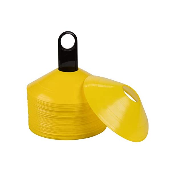 Juvale Soccer Disk Cones, Field Markers (7 in, 50 Pack)