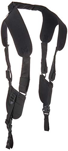 BLACKHAWK-44H002 Ergonomic Black Duty Belt Harness - Large/Xlarge,Multicolor