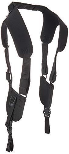 BLACKHAWK-44H002 Ergonomic Black Duty Belt Harness - Large/Xlarge,Multicolor