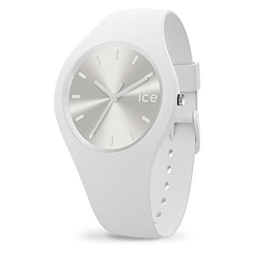Ice-Watch - ICE colour Spirit - Weiße Herren/Unisexuhr mit Silikonarmband - 018127 (Medium)