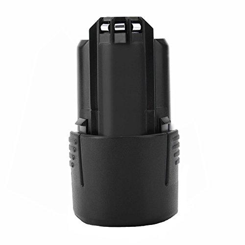 Shentec 10.8V 2.5Ah Li-ion Batería de repuesto compatible con Bosch 2607336013 2607336014 BAT411 BAT411A BAT412A GDR 10.8-LI GMF 10.8 V-LI GSR 10.8 V-LI2 GUS 10.8 V-LI