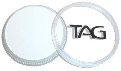 TAG Face and Body Paint - Regular White 32gm