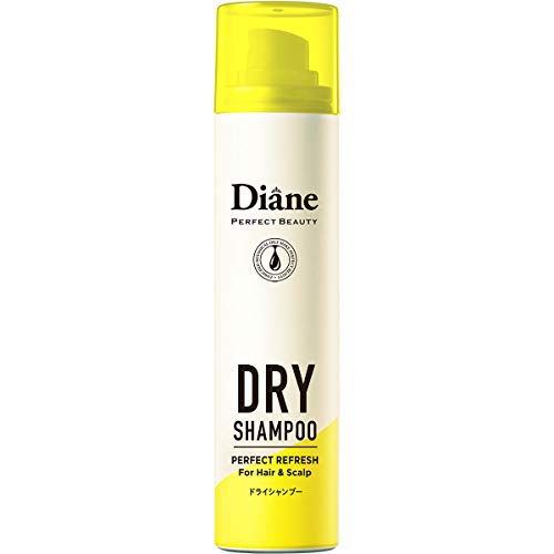ドライシャンプー (水のいらないシャンプー) フレッシュシトラスペアの香り ダイアン パーフェクトビューティー 95g