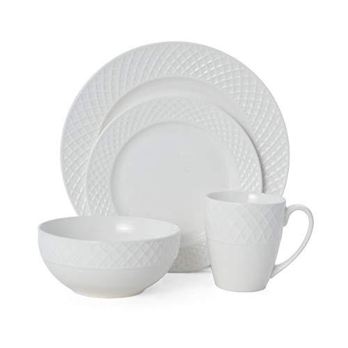 Mikasa Napa Countryside 32-Piece Dinnerware Set, White