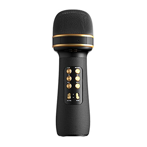 BBNB Karaoke Bluetooth-Mikrofon für Erwachsene, kabelloses Mikrofon,...