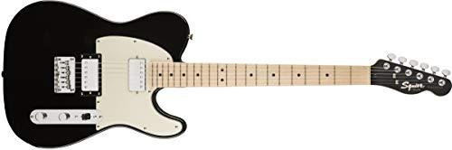 Squier by Fender Contemporary Telecaster HH Guitarra Eléctrica - Diapasón de arce - Negro Metálico