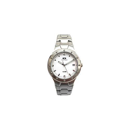 Reloj TIME FORCE TF2264M-03M Blanco Unisex