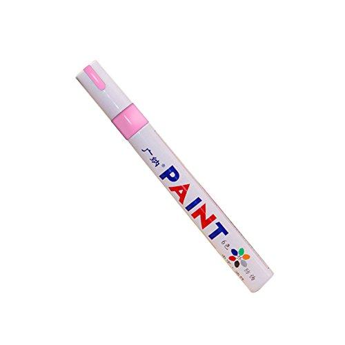 Carrfan 防水ペン 塗料 ペイント タッチアップ ペン 車のタイヤ 落書き油性 マーカー ペン 修復ペン