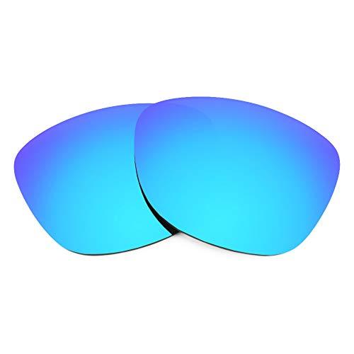 Revant Lentes de Repuesto Compatibles con Gafas de Sol Oakley Latch Beta, Polarizados, Azul Hielo MirrorShield