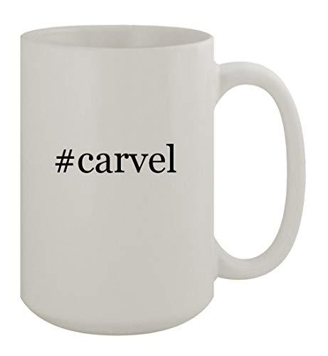 #carvel - 15oz Ceramic White Coffee Mug, White