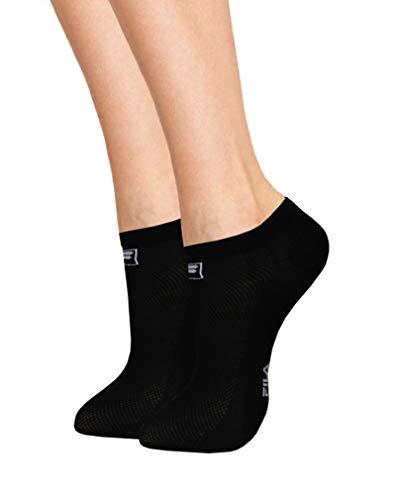 Fila F1735, Socken Uni, schwarz, 35/38