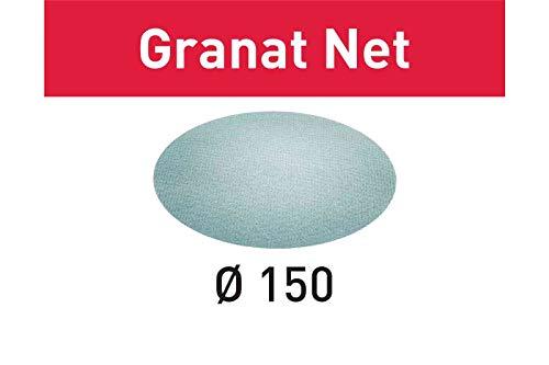 FESTOOL 203309STF D150P320GR Schleifmittel Net, Stahl Grau, Set of 50Pieces