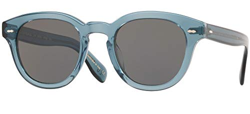 Oliver Peoples Gafas de Sol CARY GRANT SUN OV 5413SU WASHED TEAL/CARBON GREY 48/22/145 unisex