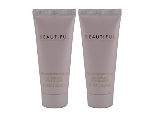 Estee Lauder Beautiful Perfumed Body Lotion - 1 Oz - Duo Pack (Total 2 Oz)