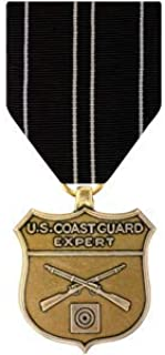 Medals of America Coast Guard Expert Rifle Medal Bronze