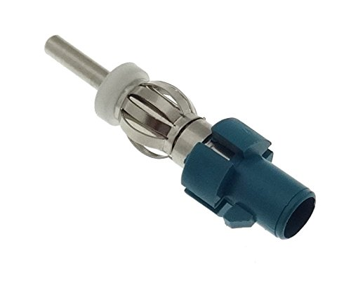 Adaptateur d'antenne DIN Fakra - Connecteur d'antenne - Compatible avec Audi, BMW, Citroën, Peugeot, Ford, VAG et Skoda.