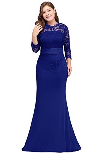 Babyonline-Women-Plus-Size-Formal-Dress-Bridesmaid-Gown