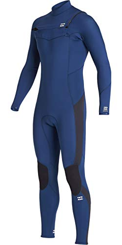 BILLABONG Junior Boys Furnace Absolute 3/2mm Chest Zip GBS Wetsuit S43B63 - Blue Age - 16Y