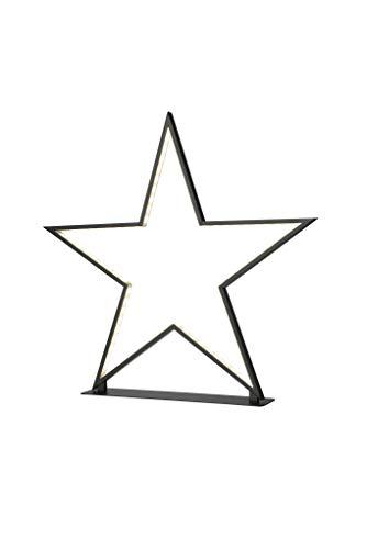 Preisvergleich Produktbild Sompex Deko- / Tischleuchte Lucy LED Weihnachtsstern,  schwarz- Höhe 50cm