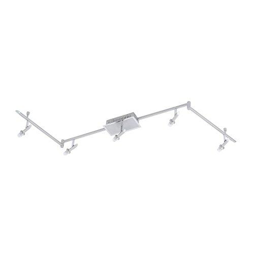 XXXL Shop Deckenleuchte, Silber, 155 cm, Metall