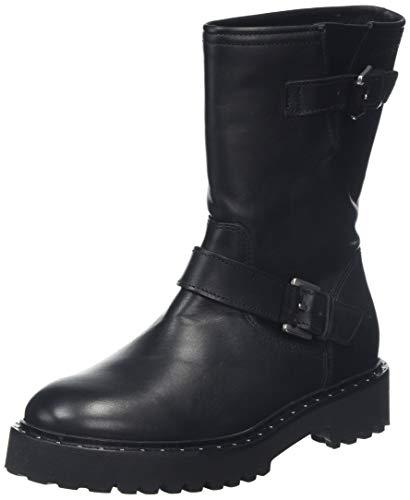 Marc O'Polo Damen 90714786001100 Biker Boots, Schwarz (Black 990), 38 EU (5 UK)