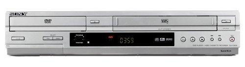 Sony SLV-D 930 S DVD-Player- / Videorekorder-Kombination Silber