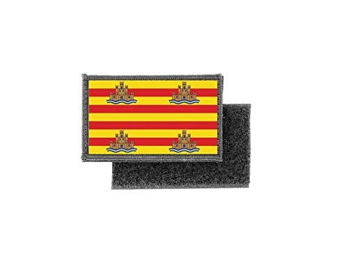 Vlag patch bedrukte badge land Ibiza Spanje