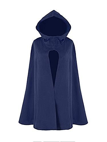 Poncho Con Capucha Mujer  marca Clothink