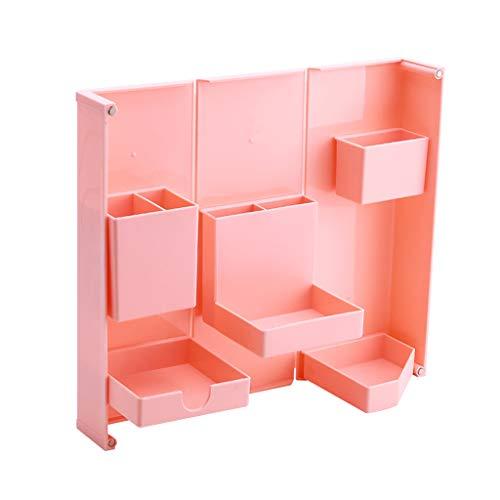 AniYY Caja magnética de papelería plegable caja de lápices rectangular de oficina fuente titular de la pluma