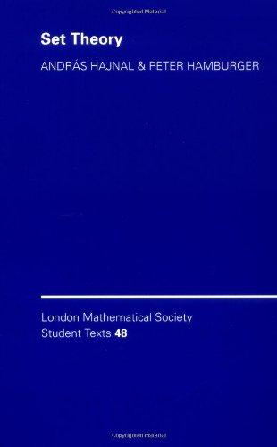 LMSST: 48 Set Theory (London Mathematical Society Student Texts)