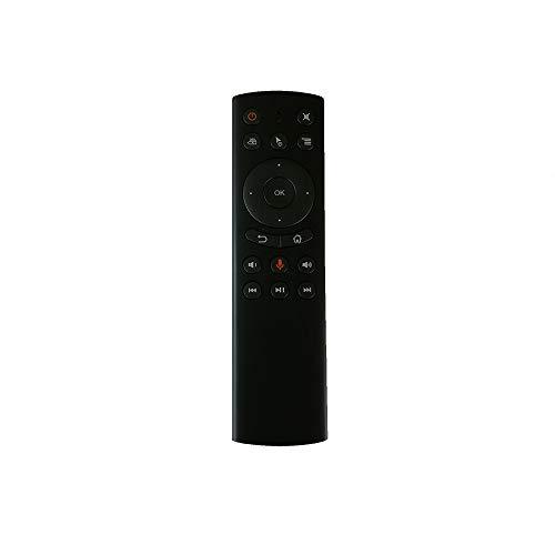 IHANDY G20s 2.4Gリモートコントロールエアマウススマートテレビリモートコントロール-IR学習および音声スイッチ付き-ブラック