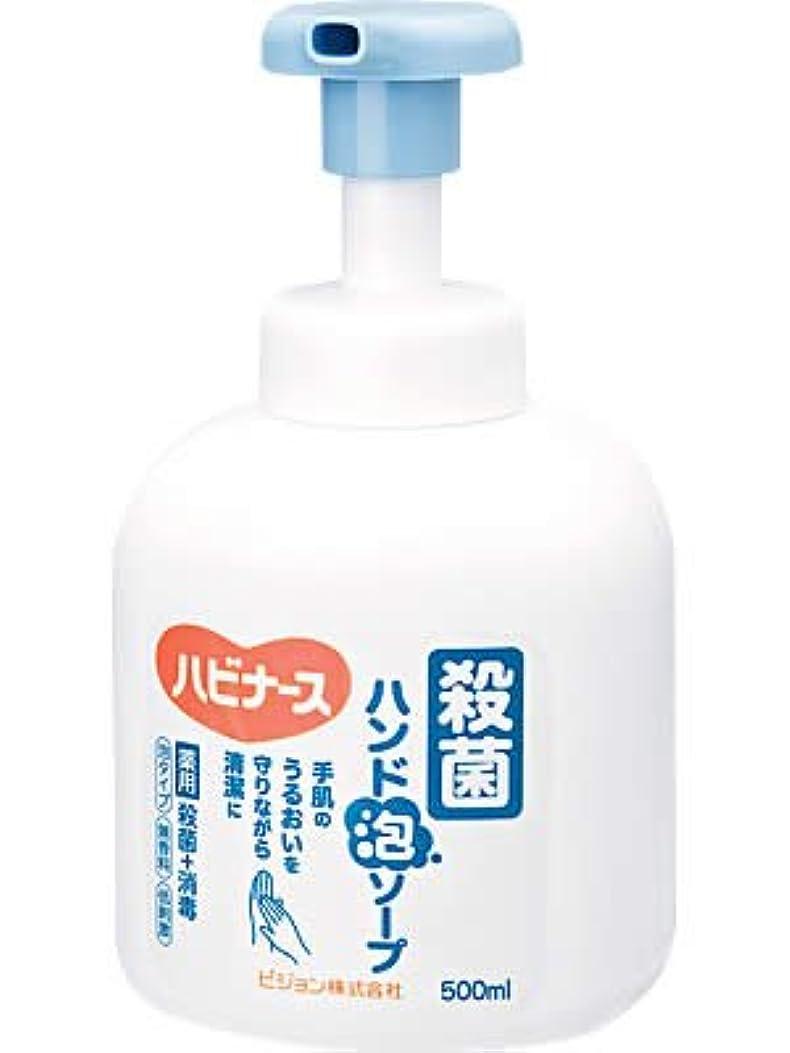 どのくらいの頻度でミリメーター不健全ハビナース 殺菌ハンド泡ソープ 500ml