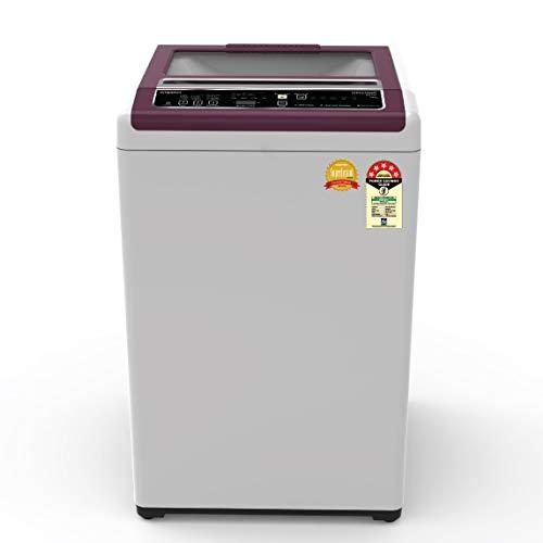 Whirlpool 6 Kg 5 Star Royal Fully-Automatic Top Loading Washing Machine (WHITEMAGIC ROYAL 6.0, Satin Grey, Hard Water Wash)