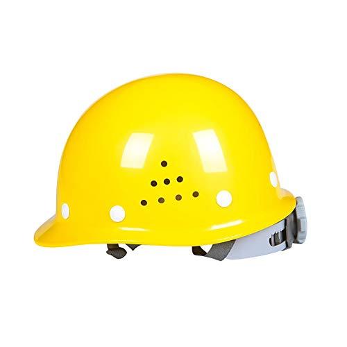YZJJ Casco de Seguridad Industrial, Casco de construcción rígido, ventilado, arnés de 8 Puntos, Casco de Protección, Casco de Trabajo Casco