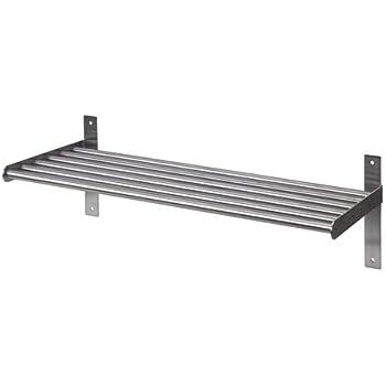 Ikea Grundtal Wandregal Aus Edelstahl Amazon De Kuche Haushalt