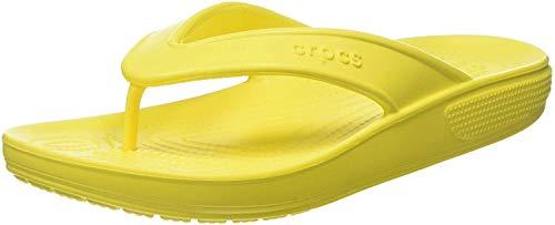 Crocs Unisex-Erwachsene Classic II Flip Zehentrenner, Gelb (Lemon 7c1), 48/49 EU