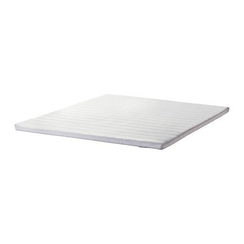 IKEA TUDDAL Matratzenauflage in weiß; (160x200cm)