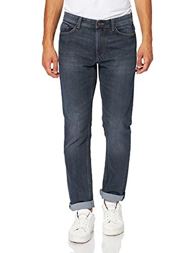 TOM TAILOR Herren Marvin Straight Jeans, 10281 - Mid Stone Wash Denim, 36W / 36L