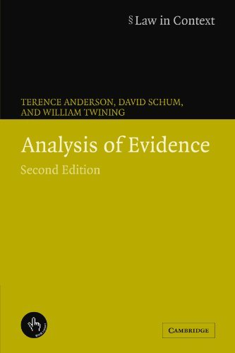 Analysis of Evidence (Law in Context) (English Edition)