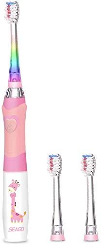 spazzolino elettrico 2 anni Seago - Spazzolino elettrico per bambini da 3 a 12 anni
