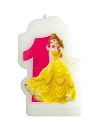 Disney Princesse et Animaux 1 Bougie d'anniversaire