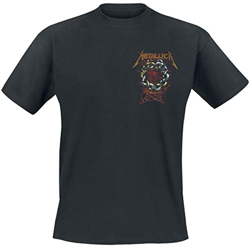 Metallica The Struggle Within Hombre Camiseta Negro XXL, 100% algodón, Regular