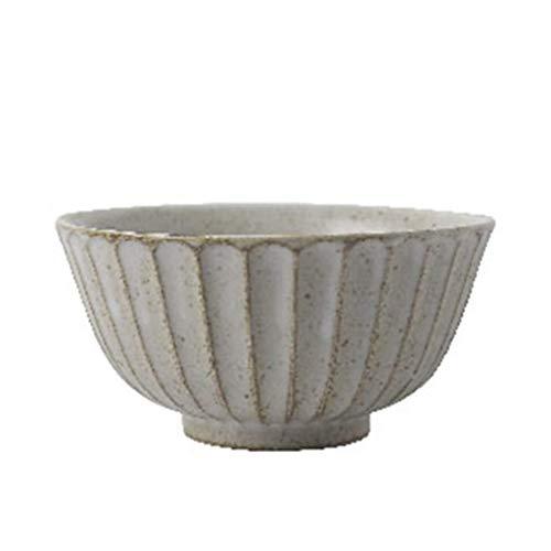 Cuenco de la cultura popular Tazón, tazón de cerámica Sopa Creatividad de estilo japonés Tazón retro Tazón Tazón de comida Tazón de arroz Tazón pequeño for el hogar 12.8 * 5.5 * 6.5cm cuenco de la cul