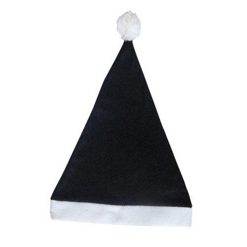 DISOK - Gorro Papa Noel Negro