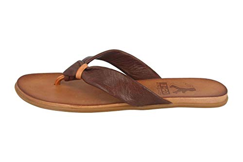 MUSTANG Shoes 8003-702-32 Tongs pour femme Marron - Marron - marron foncé, 42 EU