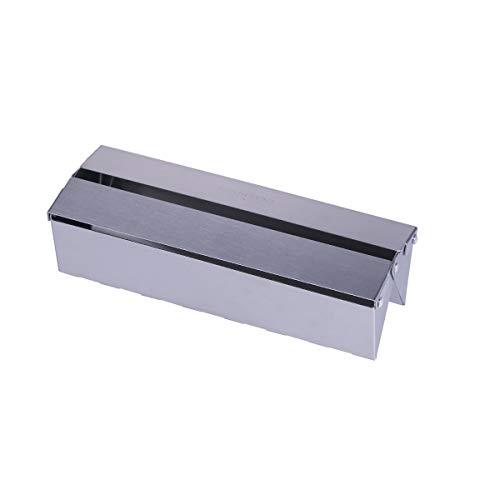 SANTOS Räucherbox Gasgrill, Universalgröße, Edelstahl