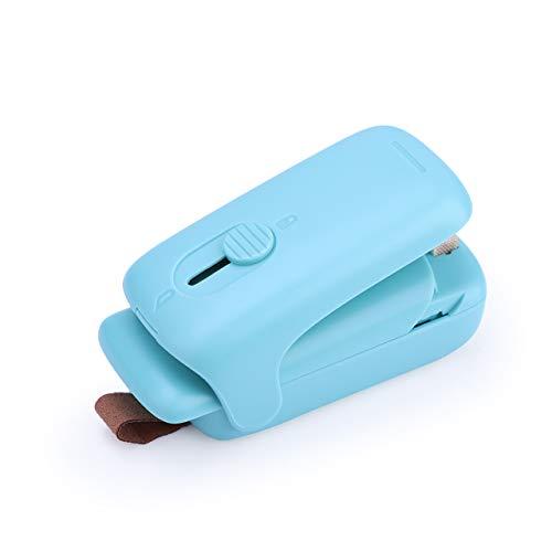 CARBOLE(カーボー)家庭用 ヒートシーラー:小型ヒートシーラー ハンディタイプ カッター付き 携帯便利 クリップシーラー ビニール袋ポータブル|食材保存|お菓子|家庭用|開封 密封保管 密封機 キッチンシーラー