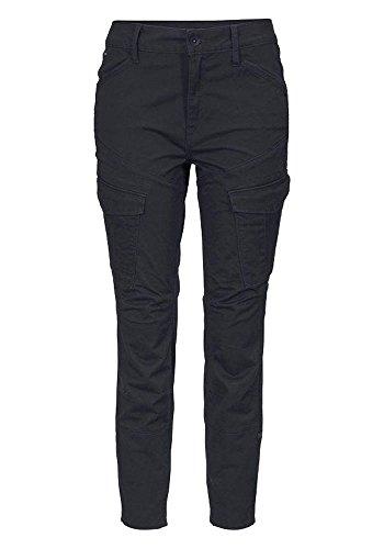G-STAR RAW Damen Cargohose Cargo Hose Rovic Mid Skinny Fit (Mazarine Blue, W30/L32)